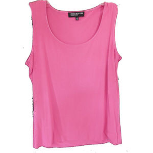 NWT  JONES NEW YORK  PINK TANK TOP SIZE S